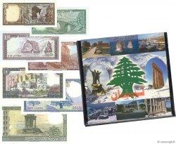 lot de 7 billets Monde LIBAN  1978 P.61-62-63-64-65-66-67 NEUF