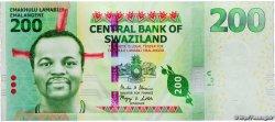 200 Emalangeni SWAZILAND  2014 P.40a NEUF