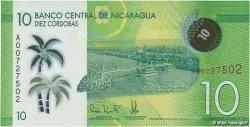 10 Cordobas NICARAGUA  2014 P.210 NEUF