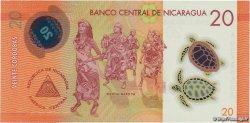 20 Cordobas NICARAGUA  2014 P.211 NEUF