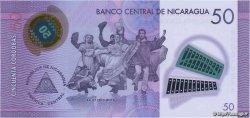 50 Cordobas NICARAGUA  2014 P.212 NEUF