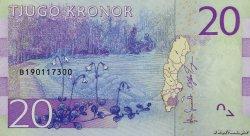 20 Kronor SUÈDE  2015 P.New NEUF