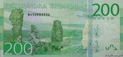 200 Kronor SUÈDE  2015 P.72 NEUF