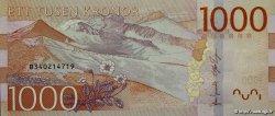 1000 Kronor SUÈDE  2015 P.74 NEUF