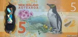 5 Dollars NOUVELLE-ZÉLANDE  2015 P.191 NEUF