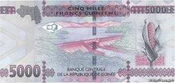 5000 Francs GUINÉE  2015 P.48 NEUF