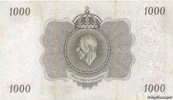 1000 Kronor SUÈDE  1939 P.46c TTB