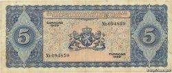 5 Gulden CURACAO  1939 P.22A TB+