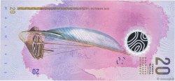 20 Rufiyaa MALDIVES  2015 P.New NEUF