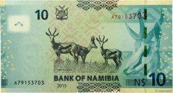 10 Namibia Dollars NAMIBIE  2015 P.11c NEUF