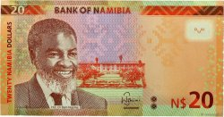 20 Namibia Dollars NAMIBIE  2015 P.12c NEUF