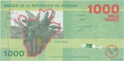 1000 Francs BURUNDI  2015 P.51 NEUF