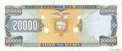 20000 Sucres ÉQUATEUR  1999 P.129f NEUF