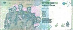5 Pesos ARGENTINE  2015 P.New NEUF