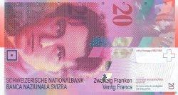 20 Francs SUISSE  2012 P.69 NEUF