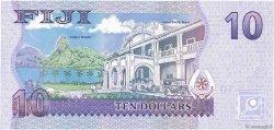 10 Dollars FIDJI  2013 P.111b NEUF