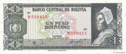1 Peso Boliviano BOLIVIE  1962 P.158a SPL