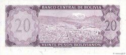 20 Pesos Bolivianos BOLIVIE  1962 P.161a pr.NEUF