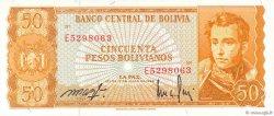 50 Pesos Bolivianos BOLIVIE  1962 P.162a NEUF