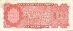 100 Pesos Bolivianos BOLIVIE  1962 P.164b TTB