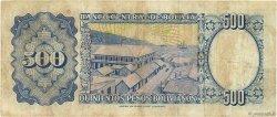 500 Pesos Bolivianos BOLIVIE  1981 P.165a TB