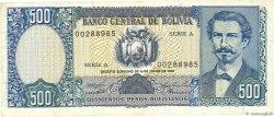 500 Pesos Bolivianos BOLIVIE  1981 P.165a