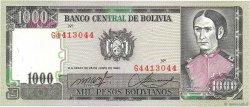 1000 Pesos Bolivianos BOLIVIE  1982 P.167a NEUF