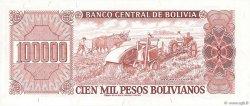 100000 Pesos Bolivianos BOLIVIE  1984 P.171a NEUF