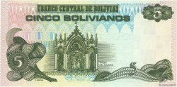 5 Bolivianos BOLIVIE  1987 P.203a NEUF