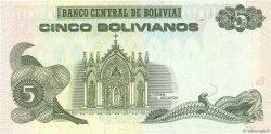 5 Bolivianos BOLIVIE  1998 P.203c SPL