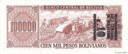 10 Centavos sur 50000 Pesos Bolivianos BOLIVIE  1987 P.196A NEUF