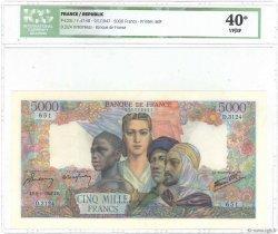 5000 Francs EMPIRE FRANÇAIS FRANCE  1947 F.47.58 SUP