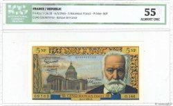 5 Nouveaux Francs VICTOR HUGO FRANCE  1965 F.56.18 SPL+