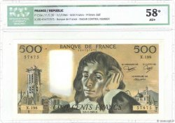 500 Francs PASCAL FRANCE  1984 F.71.30 SPL