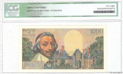 1000 Francs RICHELIEU FRANCE  1955 F.42.13 SUP