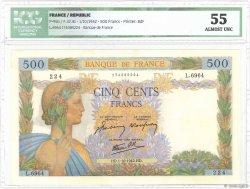 500 Francs LA PAIX FRANCE  1942 F.32.41 SPL+