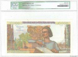 10000 Francs GÉNIE FRANÇAIS FRANCE  1953 F.50.64 TTB+
