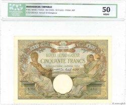 50 Francs MADAGASCAR  1948 P.38 SUP+