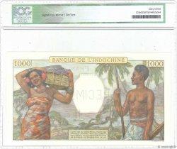 1000 Francs TAHITI  1938 P.15bs pr.NEUF