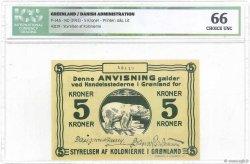 5 Kroner GROENLAND  1913 P.14A NEUF