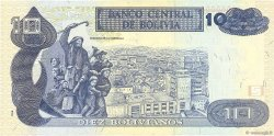 10 Bolivianos BOLIVIE  1995 P.218 SUP