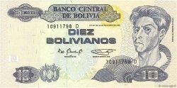 10 Bolivianos BOLIVIE  1995 P.218 NEUF
