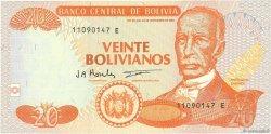 20 Bolivianos BOLIVIE  1997 P.205c NEUF