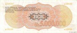5000000 Pesos Bolivianos BOLIVIE  1985 P.191a SUP