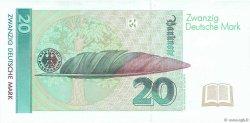 20 Deutsche Mark ALLEMAGNE FÉDÉRALE  1991 P.39a SPL