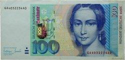 100 Deutsche Mark ALLEMAGNE  1996 P.046 SUP
