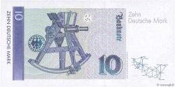 10 Deutsche Mark ALLEMAGNE FÉDÉRALE  1999 P.38d pr.NEUF