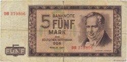 5 Mark ALLEMAGNE  1964 P.022a B