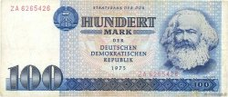 100 Mark ALLEMAGNE  1975 P.031a TB