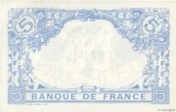 5 Francs BLEU FRANCE  1912 F.02.10 SUP